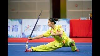 Women 39 S Jianshu 女子剑术 第4名 江苏队 王逸蓬 9 63分 Jiang Su Wang Yi Peng