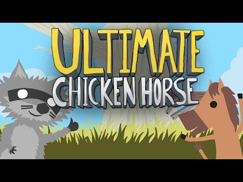 Ultimate Chicken Horse - ОБЗОР БЕЗУМИЯ