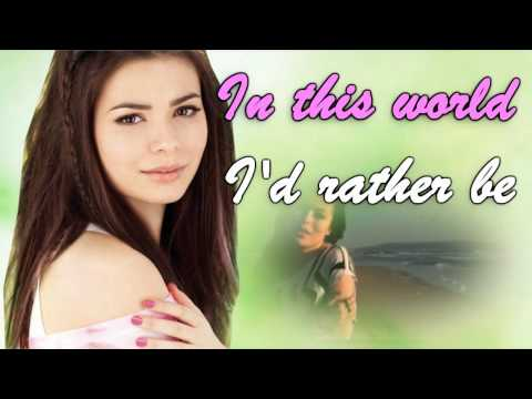 Kissin U    Miranda Cosgrove (official Karaoke instrumental) video