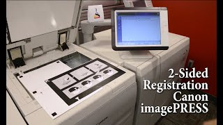 01. 2 sided registration for Canon imagePRESS