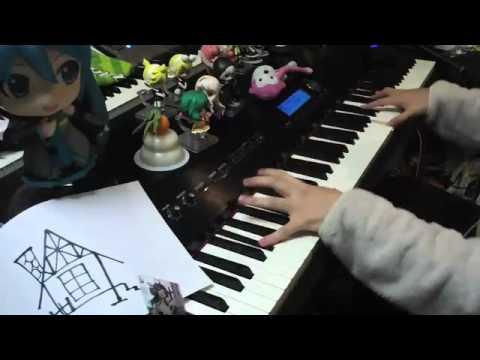 アニソンをメドレーにして弾いてみた【ピアノ】
