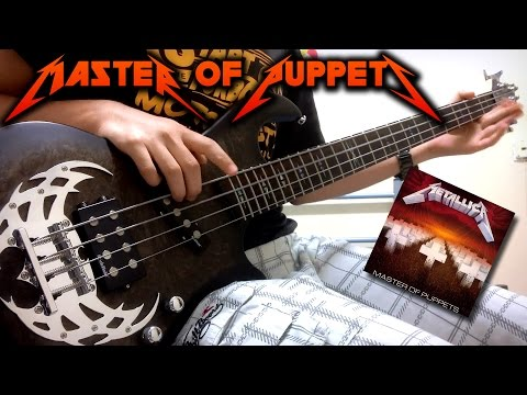 Metallica - Master Of Puppets Bass