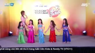 Nhí tài năng VTC 11 - Nhóm Baladi Kid - Múa bụng trẻ em - Belly dance for Kid
