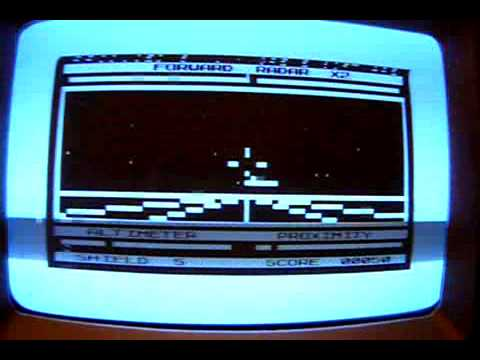 3D Defender on a real Sinclair ZX81 vintage computer. Gameplay & Commentary