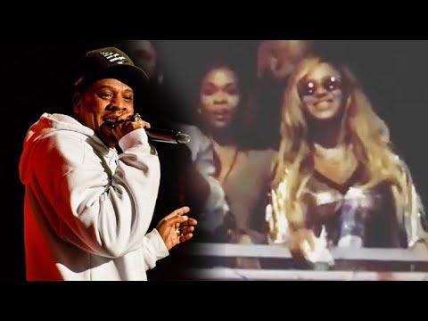 Jay-Z singing Happy Birthday to Beyonce (Made In America) 2017