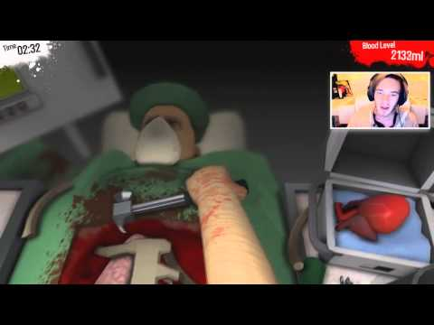 {Русские субтитры} Surgeon Simulator 2013 (BEST DOCTOR IN THE WORLD)
