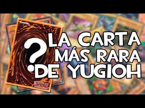 ¿Cuál es la carta MÁS RARA de Yu-Gi-Oh!?