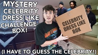 MYSTERY CELEBRITY DRESS LIKE CHALLENGE! (I Have To Guess Who It Is!)
