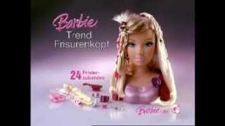 Barbie Styling Head Commercial German