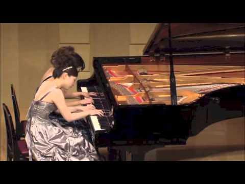 ラフマニノフ ピアノ協奏曲 第2番 第一楽章 連弾-