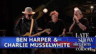 Ben Harper & Charlie Musselwhite Perform 'Found The One'