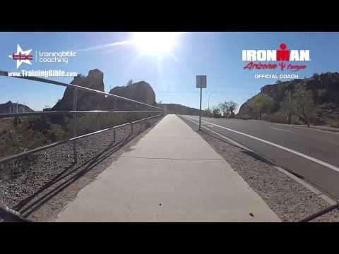 IRONMAN Arizona Run Course from TrainingBible Coaching