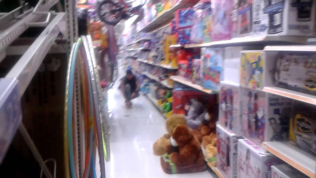 Walmart skate boardin 1