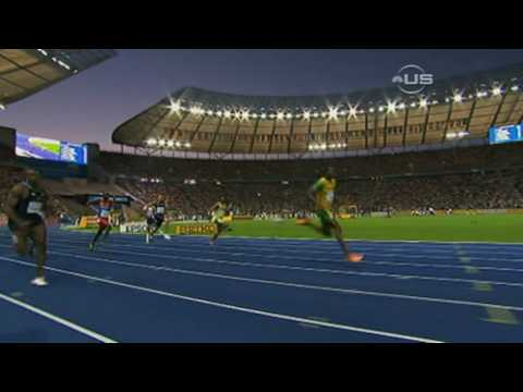 Usain Bolt 200 meter new World record - Berlin 2009