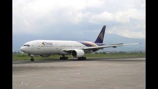 Download LANDING II THAI AIRWAYS II  TRIBHUVAN INTERNATIONAL AIRPORT II KATHMANDU 3Gp Mp4