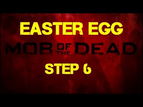 Mob of the Dead Easter Egg Step 6 - Making the Spoon Disappear Behind the Movie Poster / Hole