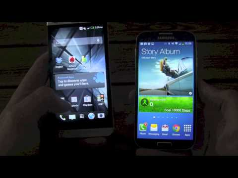 Samsung Galaxy S4 vs. HTC One Comparison