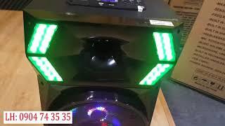 Dòng Loa Hiệu Ứng Đèn Led Theo Nhạc Cho Dân Bay - Loa Kéo ADS BL-T12B