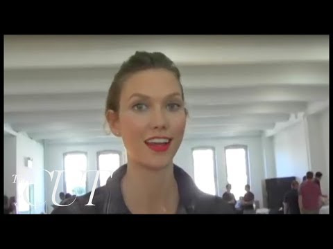Karlie Kloss Talks and Underage Modeling -- New York Fashion Week Spring 2012