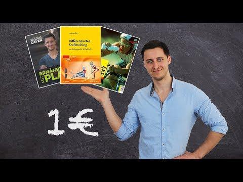 Die besten Fitness-Bücher für unter 1 Euro