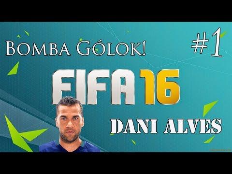 Fifa 16 // Bomba Gólok #1 || Dani Alves