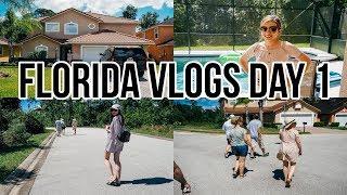 Orlando Florida Vlog day 1: Walking Around Lake Wilson Preserve & Target shopping trip
