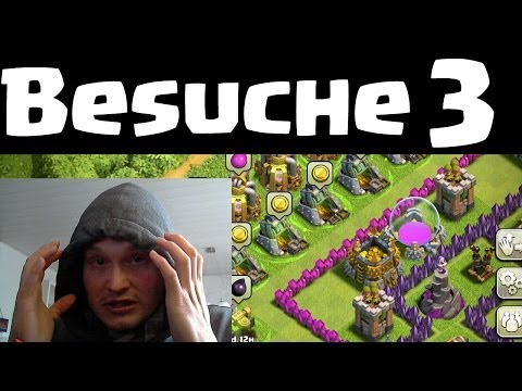 BESUCHE UND REVIEWS 3    CLASH OF CLANS    Let's Play Clash of Clans [Deutsch/German HD]