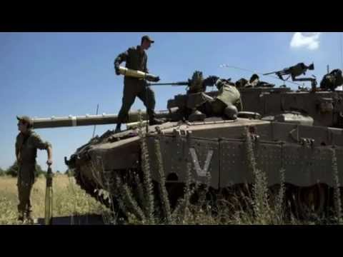Israeli air strikes target Syria after Golan death