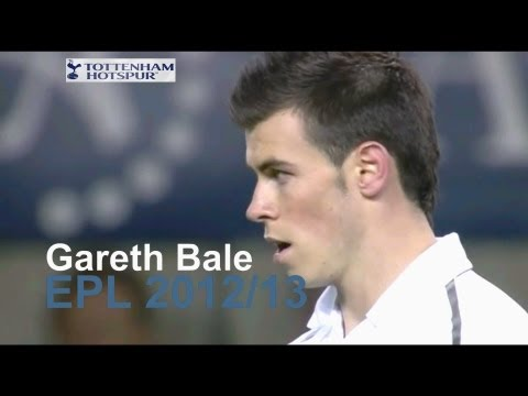 Gareth Bale - Goals EPL 12/13 (Part 1)