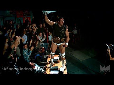 Lucha Underground 3/4/15: Alberto El Patrón vs. Texano - FULL FIGHT