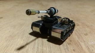 Replika Tank Perang Dari Korek Gas