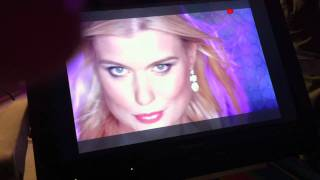 Chantal Hanse backstage videoclip oudejaarsconferance Guido Weijers