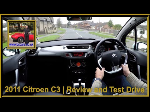 Virtual Video test Drive in our Citroen C3