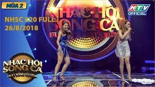 HTV NHẠC HỘI SONG CA MÙA 2 | Winner, Vicky Nhung bùng nổ đêm chung kết | NHSC #20 FULL | 26/8/2018