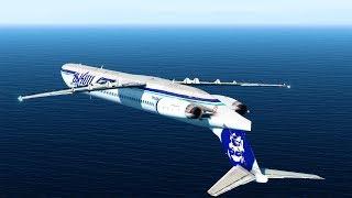 Flying Inverted - Alaska Airlines Flight 261 - P3D