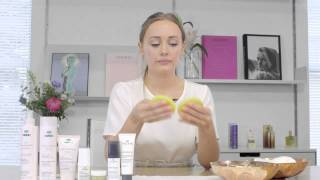 NUXE tutorial for a DIY anti-dark spot treatment