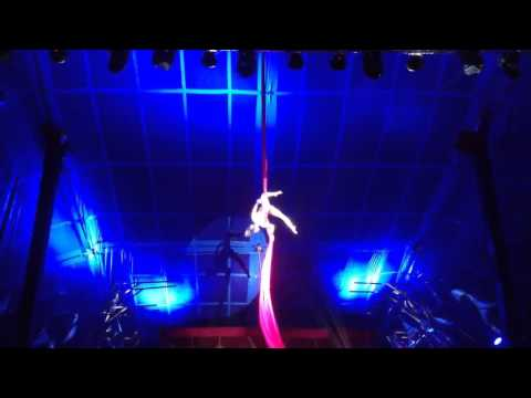 Aerial silk solo act 0086 by Paruvintov Production