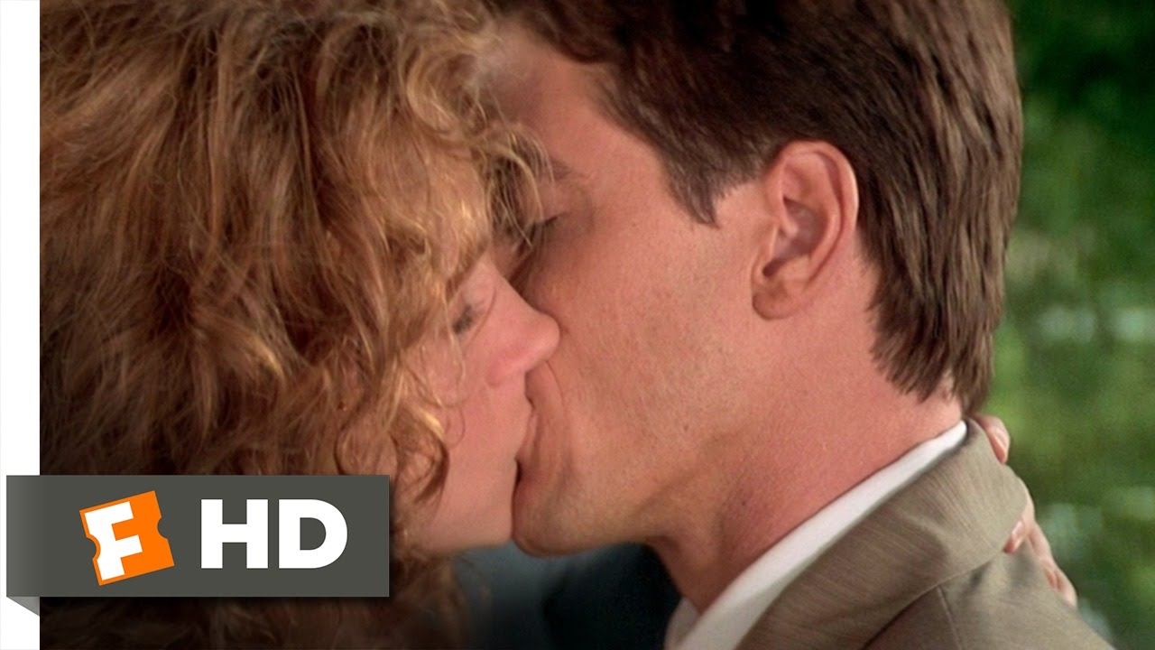 My best friend's girl kiss scene