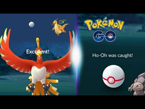 Cover Lagu ( Ho-OH ) EASIEST WAY TO HIT THE EXCELLENT THROW - Pokemon GO