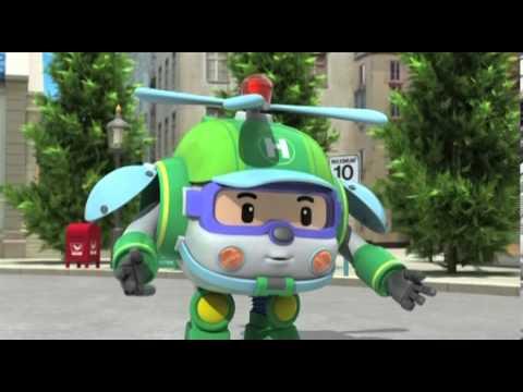 Робокар - мультики про машинки - первое сентября - мультфильм 2