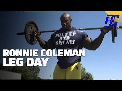 A Day In The Life Of Ronnie Coleman- Leg Day video