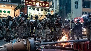 Hundreds arrested in first hours of Hong Kong's new security law