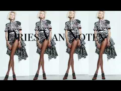 "ShowStudio - Vogue UK ""Black and White"" Photoshoot with Anja Rubik"