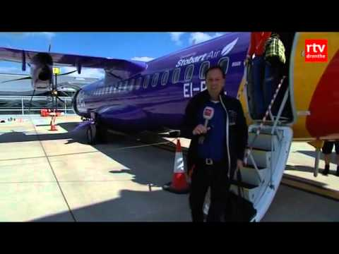 Eerste lijndiensten FlyBe van Eelde naar Londen