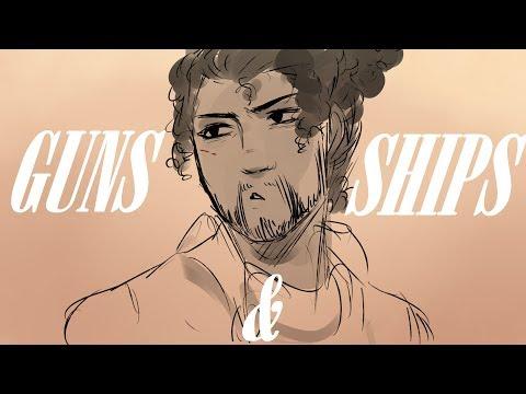 Guns And Ships    Hamilton Animatic
