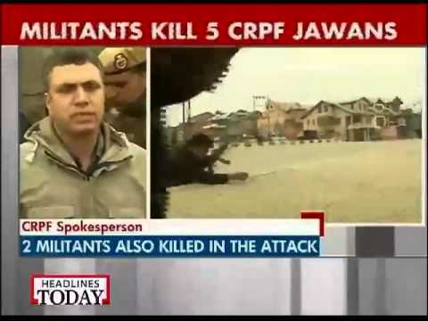 CRPF explains how terrorists carried out Fidayeen attack in Srinagar-1