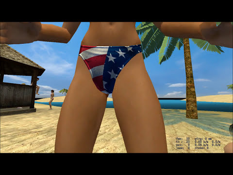 Pornografia Chicas en Bikini Counter-Strike: Source.