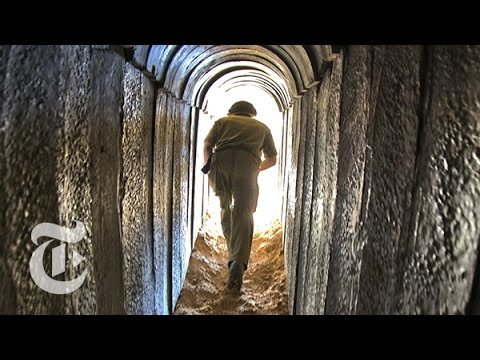 Israel-Gaza Conflict 2014: Hamas's Tunnels to Israel | The New York Times
