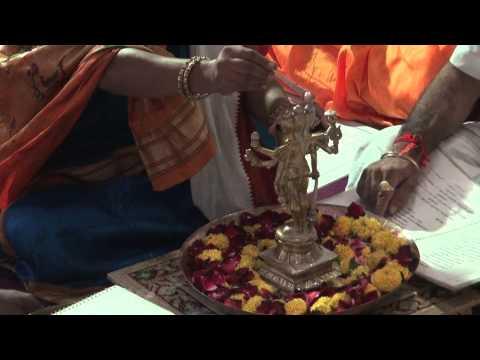 Shree Rudrabhishek seva at Shree Aniruddha Gurukeshetram - 1 September 2014.