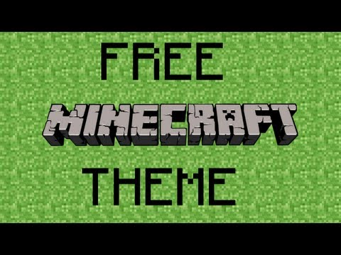 How to get a FREE Minecraft Xbox 360 Theme!